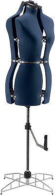 Singer Adjustable Dress Form Sized Smallmedium - Blue
