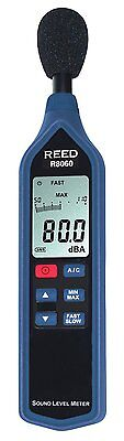 Reed R8060 Sound Level Meter 30 - 130 Db Ranges Iec 61672 Type Ii A C