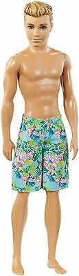 Ken Beach Barbie Doll With Fabulous Swimsuit Mattel
