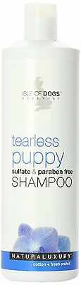 Tearless Dog Shampoo (Isle of Dogs Tearless Puppy Dog Shampoo Sulfate and Paraben Free 16 oz. 473ml  )