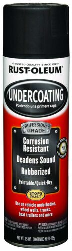 Car Rust Underbody Stopper Paint Black Undercoating Corrosive Protection Spray