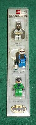 LEGO BATMAN MAGNET COLLECTION - 3 BATMAN MINI FIGURES