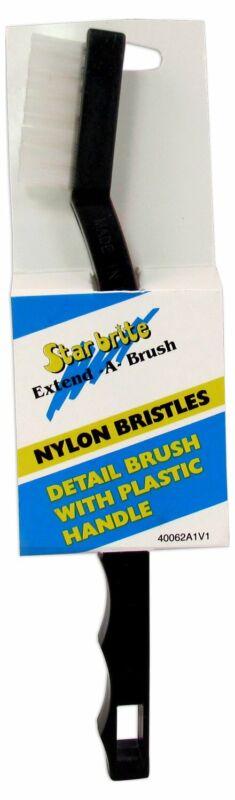Star brite Detail Brush With Plastic Handle And Nylon Bristles