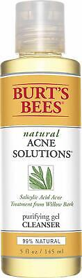 Burt's Bees Natural Acne Solutions ~ Purifying Gel Cleanser (READ)