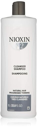 NIOXIN System 2 Hair Thickening Cleanser Shampoo 33.8oz / Liter