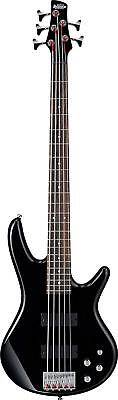 Ibanez GSR205BK Right Handed 5 String Bass Guitar with Phat II Active Bass - BLK for sale  New York