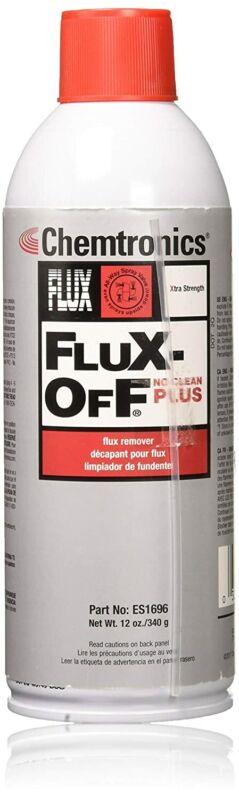 Flux-Off No-Clean Plus Flux Remover, 12oz Aerosol