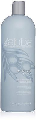ABBA PURE PERFORMANCE HAIR CARE MOISTURE SHAMPOO 32 OZ / 946 (Hair Care Pure Moisture Shampoo)