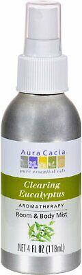 Aura Cacia Aromatherapy Mist Eucalyptus Harvest 4 fl oz