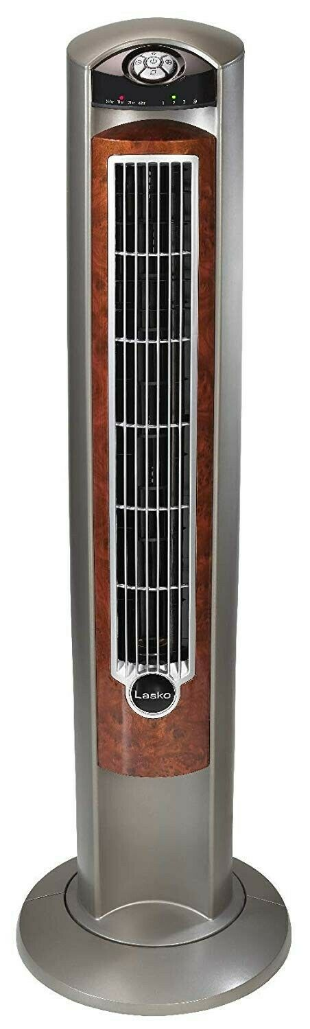 Wind Curve Portable Electric Oscillating Stand Up Tower Fan with Re Heating, Cooling & Air
