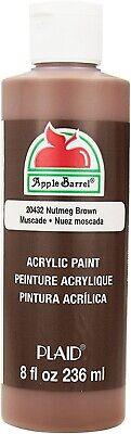 Apple Barrel Acrylic Paint Matte Nutmeg 8 Ounce New! *SALE*