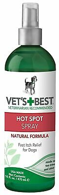 Vet's Best Natural Formula Hot Spot Foam Itch Relief Treatment for Dogs 16oz