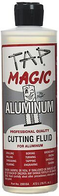 Tap Magic 20016a Aluminum Fluid With Spout Top 16 Oz Light Yellow Pack Of 1