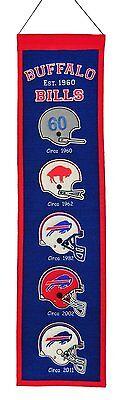 Buffalo Bills NFL Embroidered Wool Heritage 32