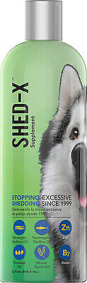 Shed-X Dermaplex Liquid Daily Supplement for Dogs 100% Natural 32 fl. oz.