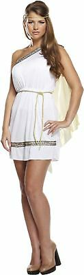 Adult Female Roman Fancy Dress Dressing Up Outfit Costume Hen Do Party NEW