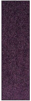 Solid Color Purple Custom Size Runner Area - Purple Carpet Runner