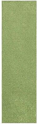 Solid Color Lime Green Custom Size Runner Area Rug