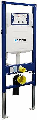 Duravit Geberit Concealed Toilet Carrier Frame UP320 Dual Flush Tank Geberit Dual Flush