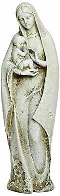 Madonna and Child Jesus Tall Outdoor Garden Statue Madonna Garden Statue