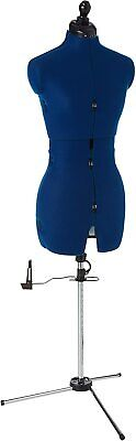 Dress Form With Tri-pod Stand Adjustable Up To 70 Shoulder Height Medium