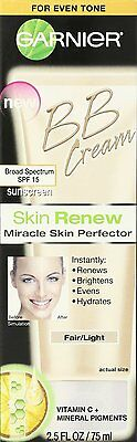 BRAND NEW  Garnier Skin Renew Miracle Skin Perfector BB Cream Fair Light