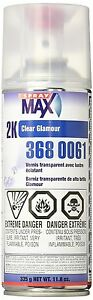 Spray Max 2K Spray High Gloss CLEAR COAT 3680061 FREE SHIPPING