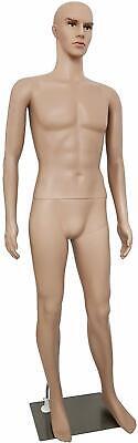 Male Mannequin Torso Dress Form Mannequin Body 73 Inches Adjustable Dress Model