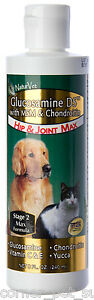 NaturVet Glucosamine DS Chondroitin Hip & Joint Stage 2 Gel for Dogs and Cats