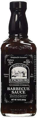 Historic Lynchburg BBQ Sauce - Extra Hot 151 Poof! - 16 oz. (Hot Bbq Sauce)