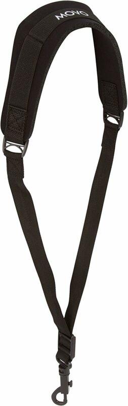 Movo MS-20J Neoprene Instrument Strap for Saxophones Clarinets Medium/Black