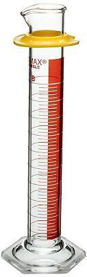 Pyrex Graduated Borosilicate Glass Cylinder Red Stripe Cat20024-d 100ml