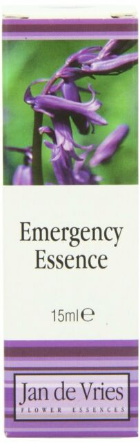 Emergency Essence - better buy than Bach Rescue Remedy
