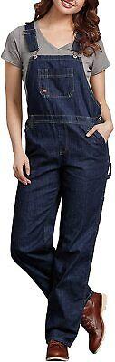 Vintage Overalls & Jumpsuits Dickies Women's Denim Bib Cotton Overall Jeans Blue Denim 2XL $27.54 AT vintagedancer.com