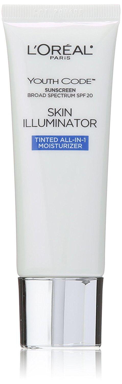 L`oreal Youth Code Skin Illuminator Tinted Moisturizer 1.4 O