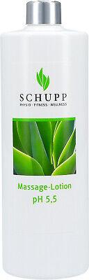 Schupp Massagelotion - PH 5,5 - 500 ml incl 1x Dosierspender, mit Aloe Vera