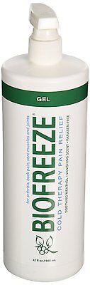 Biofreeze 32 oz Pump Bottle Arthritis Pain Relief **FREE SHIPPING!!** (Biofreeze 32 Oz Pump Bottle)