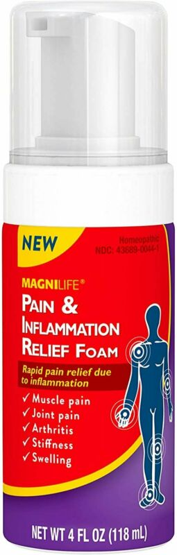 MagniLife Pain & Inflammation Relief Foam Rapid Pain Relief Targets Muscle &...