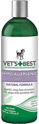 Vet's Best Hypo-Allergenic Dog Shampoo 16 fl