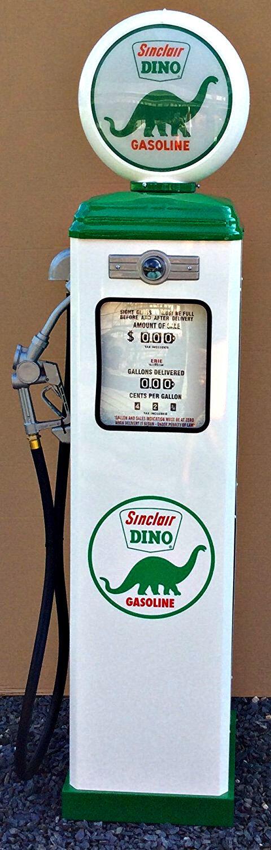 NEW SINCLAIR DINO GAS PUMP - REPRODUCTION ANTIQUE VINTAGE  REPLICA - FREE SHIP*