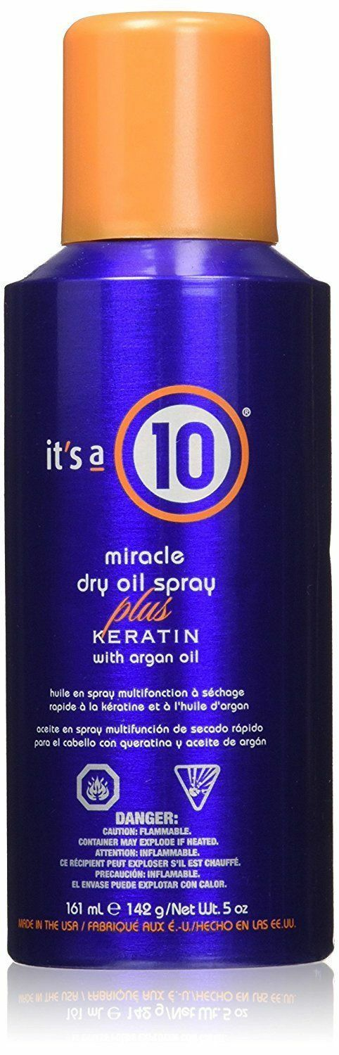 It's a 10 Miracle Dry Oil Plus Keratin with Argan Oil - 5 oz
