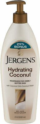 JERGENS HYDRATING COCONUT LOTION 21OZ