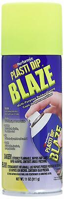 New 11222-6 Blaze Yellow 11oz Plasti Dip Rubber Handle Spray Coating Works