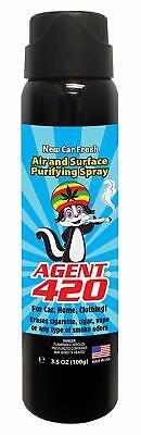 AGENT 420 3.5oz New Car Fresh Cannabis Smoke Odors Eliminator CAR Air (Fresh Air Kitchens)