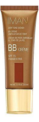 30ml Iman Cosmetics BB Cream Skin Tone Evener - Earth Deep Shade