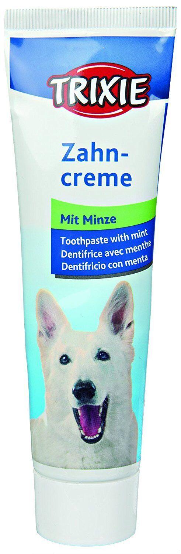 Trixie DENTIFRICIO Cani Menta gr.100 *COMMESTIBILE*RINFRESCA ALITO *NO per gatti