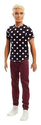 Mattel Barbie KEN FASHIONISTAS Puppe #14 gepunktetes Shirt FJF72 OVP ()