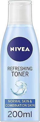 NIVEA Refreshing Toner with Vitamin E Removes Residue and Make Up, 200ml