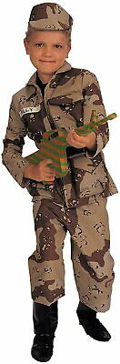 Special Forces Child Halloween Costume (Special Forces Military Soldier Desert Camo Fancy Dress Halloween Child)