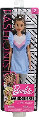 Barbie Doll with Long Brunette Hair and Prosthetic Leg Fashionistas #121 Para
